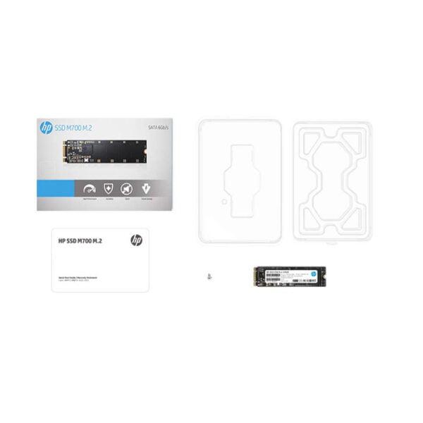 HP M700 M.2 240GB SATA III Planar MLC NAND Internal Solid State Drive (SSD) 3DV77AA#ABC-7176