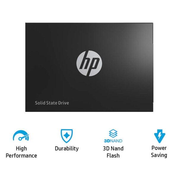 HP SSD S700 250GB 2.5 Inch Internal 3D Nand SATA III 6Gb/s Solid State Drive-7185