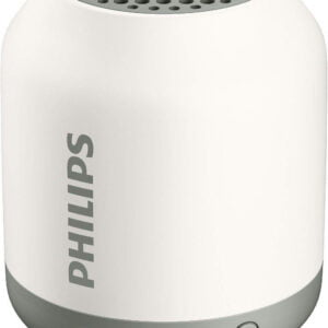 Philips BT50B Portable Wireless Bluetooth Speaker, White-0