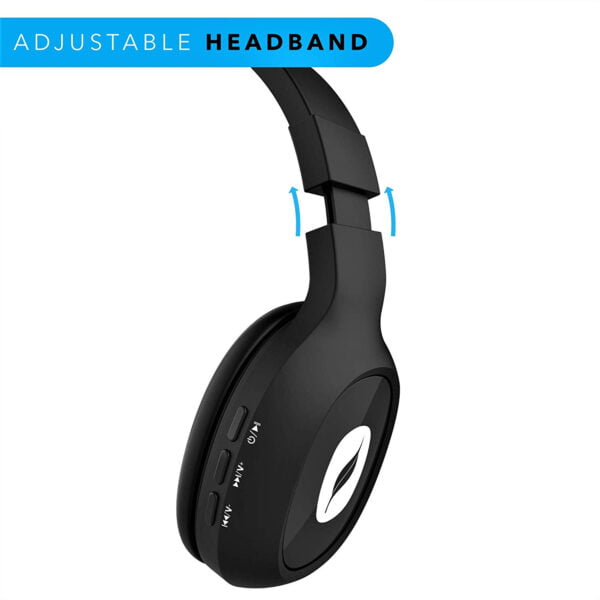 Leaf Bass 2 Wireless Headphones with Mic and 15 Hour Battery Life-7061