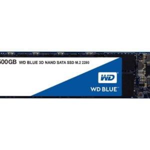 Western Digital Blue 500GB M.2 Internal Solid State Drive (WDS500G2B0B)-0