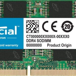 Crucial DDR4 16GB 2666mhz 260-Pin SODIMM Laptop Memory RAM works in 2133mhz and 2400mhz-0