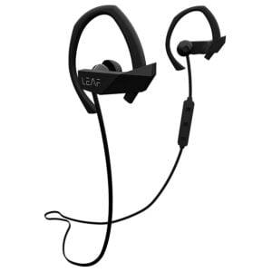 Leaf Sport Wireless Bluetooth Earphone (Black)-0
