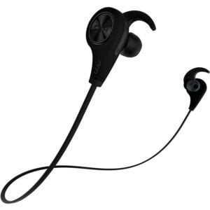 Leaf Ear Wireless Bluetooth Earphones with Mic and Deep Bass (Carbon Black)-0