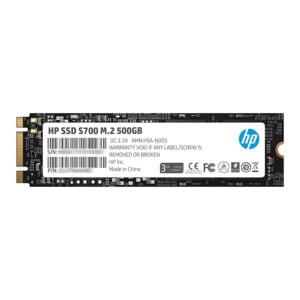 HP SSD S700 M.2 500GB SATA III 3D TLC NAND Internal Solid State Drive - 4YH60PA-0