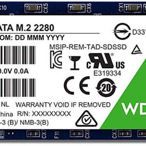 WD Green 120GB SATA III M.2 Internal SSD 3 Years warranty From WD-0
