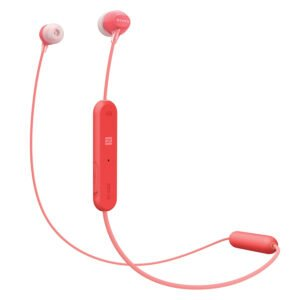 Sony WI-C300 Wireless in-Ear Headphones (Red)(100% New but Packing Damage)-0