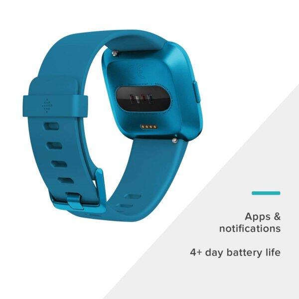 Fitbit Versa Lite Edition Smart Watch (Marina Blue)-7294