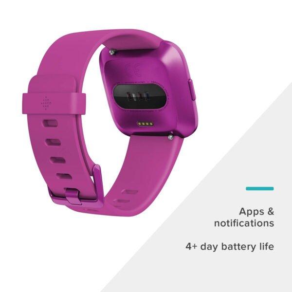 Fitbit Versa Lite Edition Smart Watch (Mulberry)-7269
