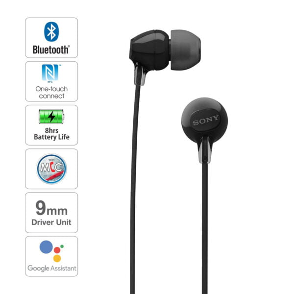 Sony WI-C300 Wireless in-Ear Headphones (White)(100% New but Packing Damage)-7560