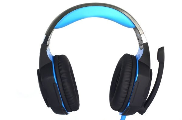 Redgear HellFury 7.1 USB Professional Gaming Headphones with LED and Mic for PC-7457