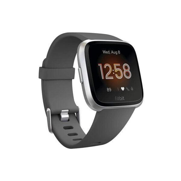 Fitbit Versa Lite Edition Smart Watch (Charcoal)-0