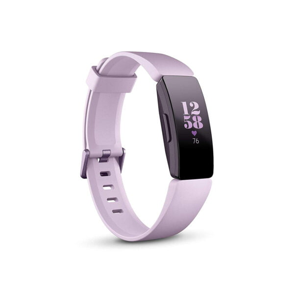 Fitbit Inspire HR Health and Fitness Tracker with Heart Rate (Lilac)-0
