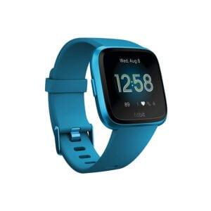 Fitbit Versa Lite Edition Smart Watch (Marina Blue)-0
