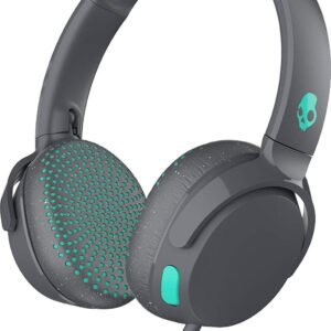 Skullcandy Riff S5PXY-L637 On-Ear Headphone with Mic (Grey/Speckle/Miami)-0