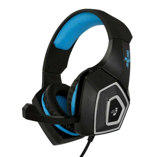 Redgear Dagger Professional Gaming Headphones with RGB LED Effect, Volume Controller and Retractable Microphone-7448