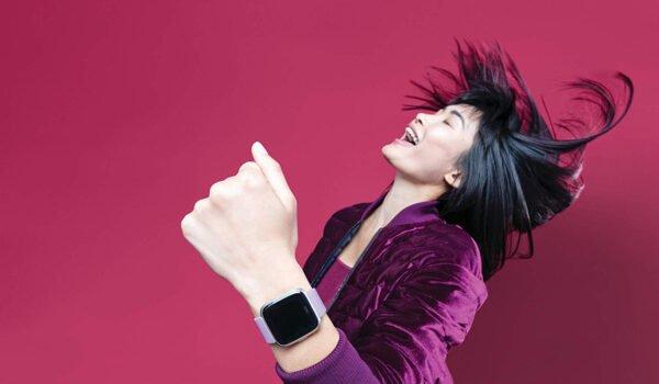 Fitbit Versa Lite Edition Smart Watch (Lilac)-7282