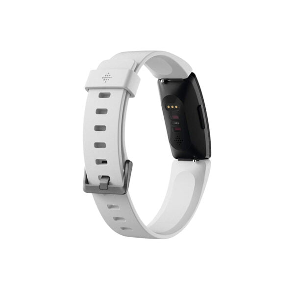 Fitbit Inspire HR Health and Fitness Tracker with Heart Rate (White)-7325