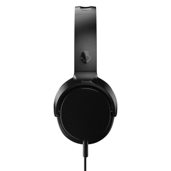Skullcandy Riff S5PXY-L003 On-Ear Headphone with Mic (Black)-7433