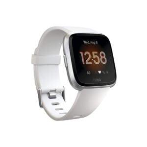 Fitbit Versa Lite Edition Smart Watch (White)-0