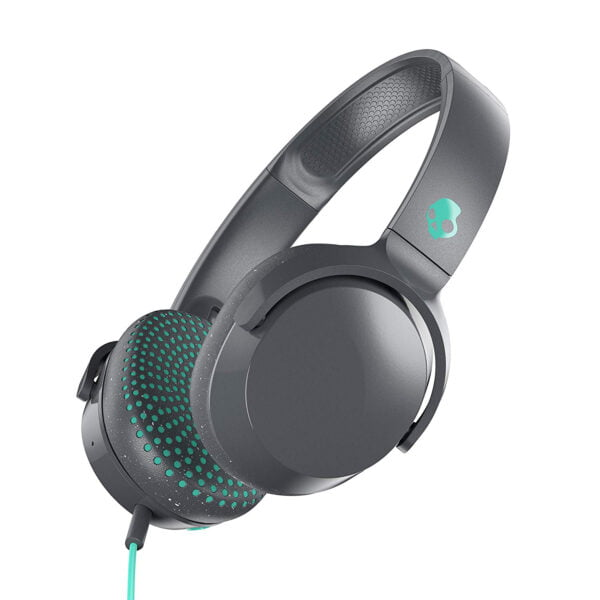 Skullcandy Riff S5PXY-L637 On-Ear Headphone with Mic (Grey/Speckle/Miami)-7416