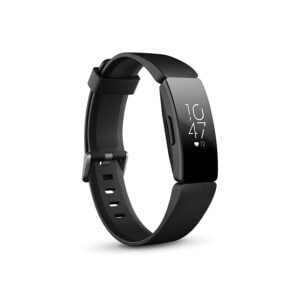 Fitbit Inspire HR Health and Fitness Tracker with Heart Rate (Black)-0