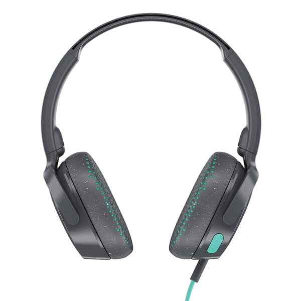 Skullcandy Riff S5PXY-L637 On-Ear Headphone with Mic (Grey/Speckle/Miami)-7415