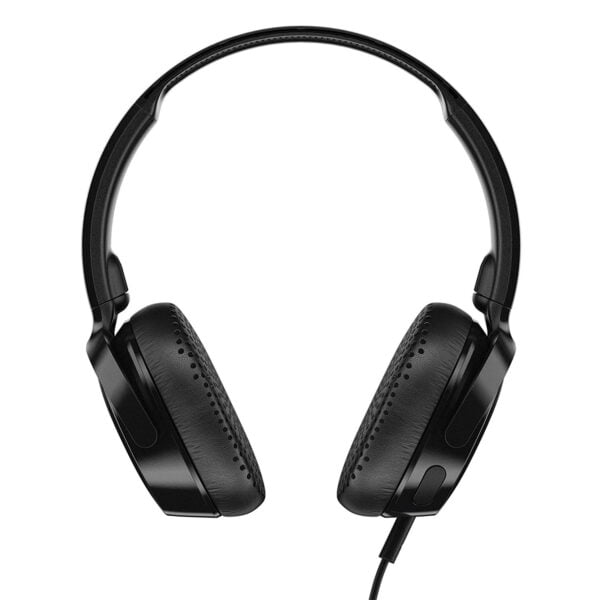 Skullcandy Riff S5PXY-L003 On-Ear Headphone with Mic (Black)-7434