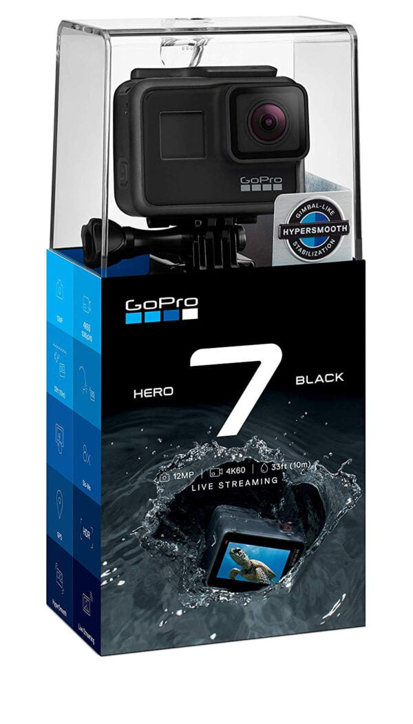 GoPro Hero7 CHDHX-701-RW Camera(Black) With 2 Years Replacement Guarantee-7520