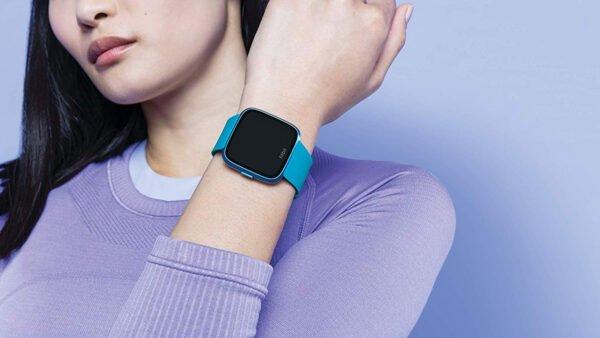 Fitbit Versa Lite Edition Smart Watch (Marina Blue)-7296