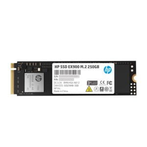 HP EX900 M.2 250GB PCIe 3.1 x 4 NVMe 3D TLC NAND Internal Solid State Drive (SSD) Max 2100 MBps (2YY43AA#ABC)-0