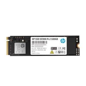 HP EX900 M.2 500GB PCIe 3.1 x4 NVMe 3D TLC NAND Internal Solid State Drive (SSD) Max 2100 MBps-0