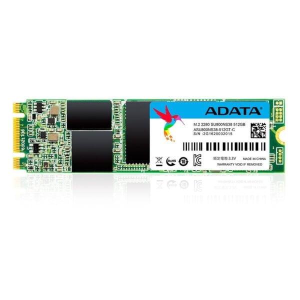 ADATA Ultimate SU800 512GB M.2 2280 3D NAND Solid State Drive (ASU800NS38-512GT-C)-0