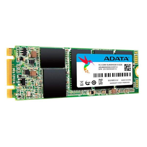 ADATA Ultimate SU800 512GB M.2 2280 3D NAND Solid State Drive (ASU800NS38-512GT-C)-7797
