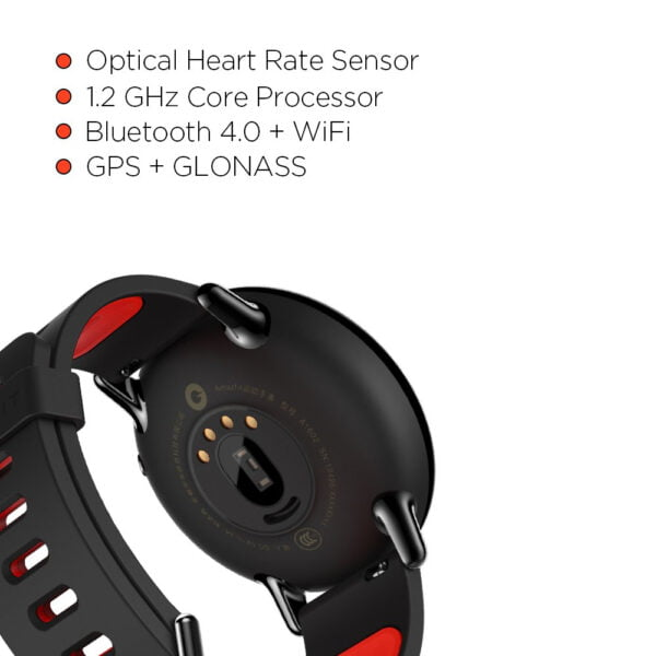 Amazfit Pace A1612 Multisport Smartwatch (Black) (Packing Damage Only)-7611