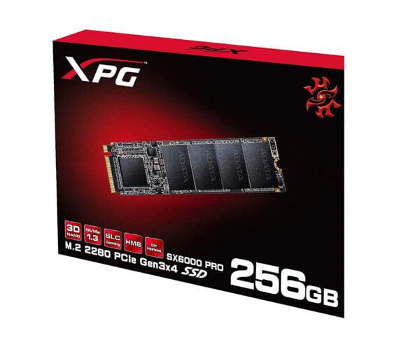 ADATA XPG SX6000 Pro 256GB PCIe Gen3x4 M.2 2280 Gaming Solid State Drive-7752