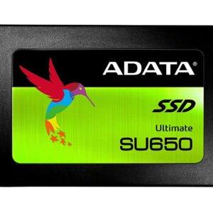 ADATA Ultimate SU650 2.5 Inch 960 GB ECC 3D NAND Solid State Drive (ASU650SS-960GT-C)-0