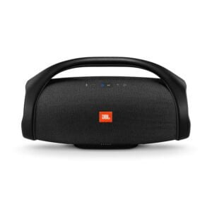 JBL Boombox Most-Powerful Boom box Portable Speaker with 20000MAH Battery Built-in Power Bank (Black) -0