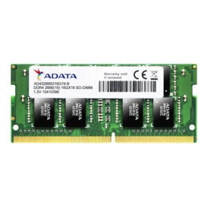 ADATA Premier 2666 Mhz SO-DIMM Memory Module SDRAM DDR4 16 GB (Dual Channel) Laptop SDRAM ( AD4S2666316G19-R)-0