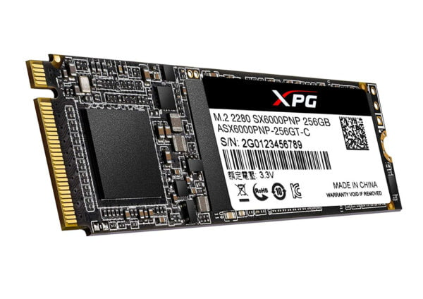 ADATA XPG SX6000 Pro 256GB PCIe Gen3x4 M.2 2280 Gaming Solid State Drive-7751