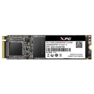 ADATA XPG SX6000 Pro 512GB PCIe Gen3x4 m.2 2280 Gaming Solid State Drive (ASX6000PNP-512GT-C)-0