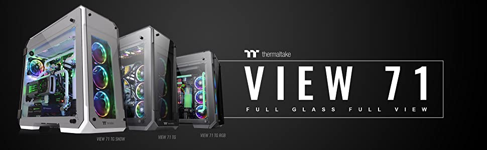 Thermaltake View 71 E-ATX Full Tower Computer Chassis
