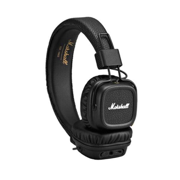 Marshall Major II Bluetooth On-Ear Headphones (Black)-8118
