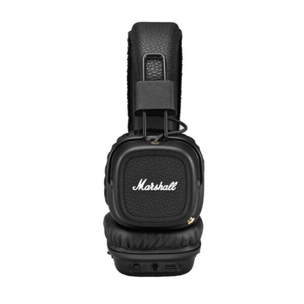 Marshall Major II Bluetooth On-Ear Headphones (Black)-8119