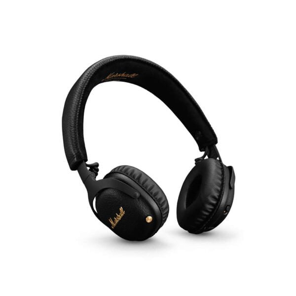 Marshall MID (ANC) Active Noise Cancelling On-Ear Wireless Bluetooth Headphone (Black)-0