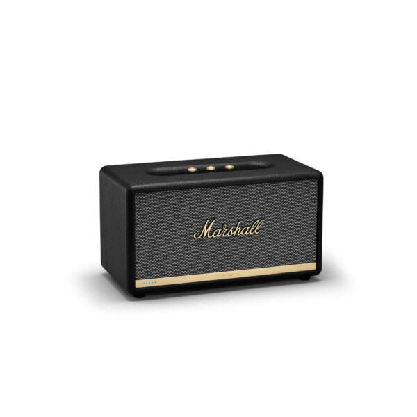Marshall Stanmore II Wireless Wi-Fi Smart Speaker with Amazon Alexa Voice Control Built-in (Black)-8108