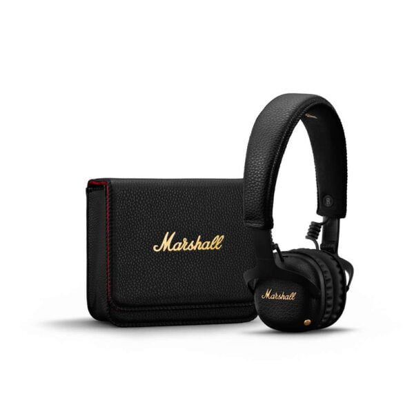 Marshall MID (ANC) Active Noise Cancelling On-Ear Wireless Bluetooth Headphone (Black)-8128