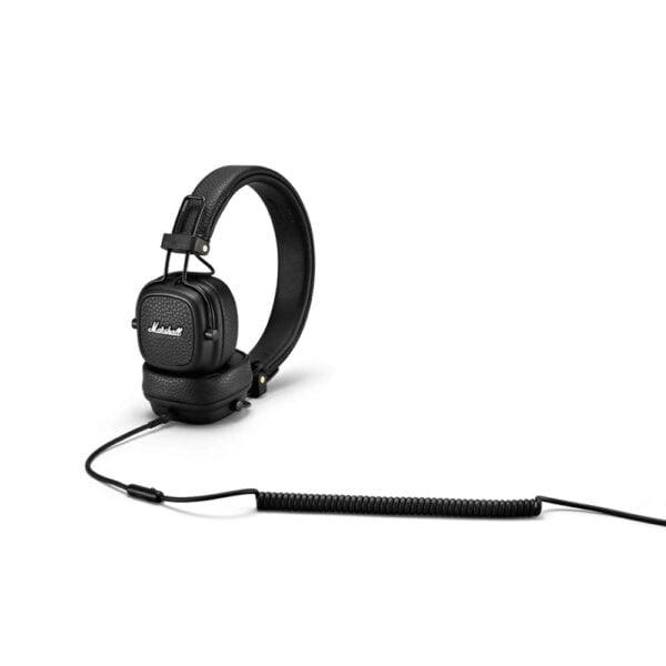 Marshall Major III Wired On-Ear Headphones (Black)-8139