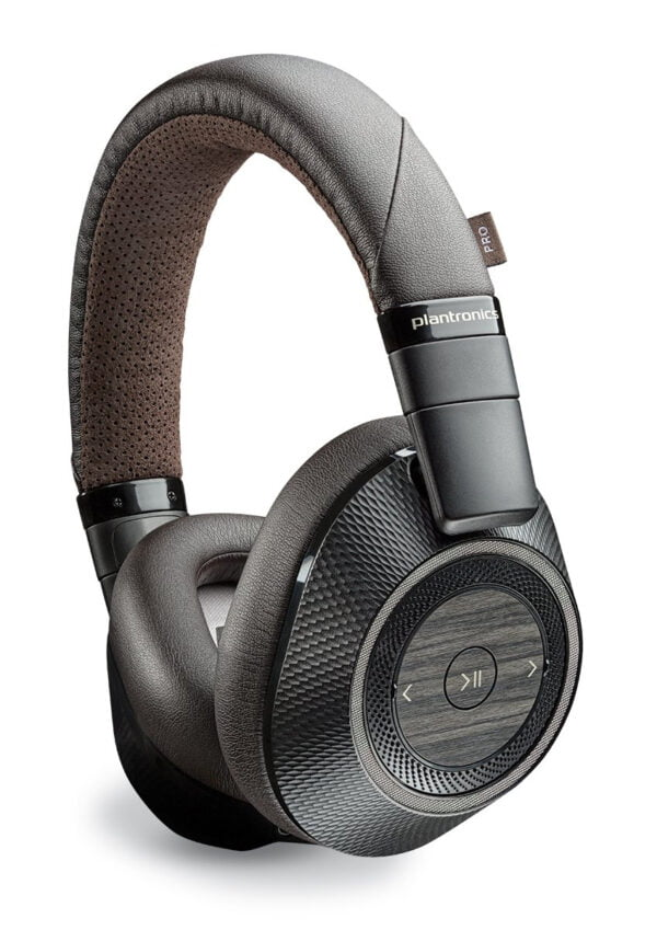 Plantronics BackBeat Pro 2 Bluetooth Headphones (Black-Brown)-8068