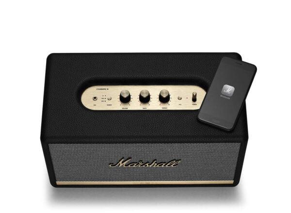Marshall Stanmore II Wireless Bluetooth Speaker (Black)-8103